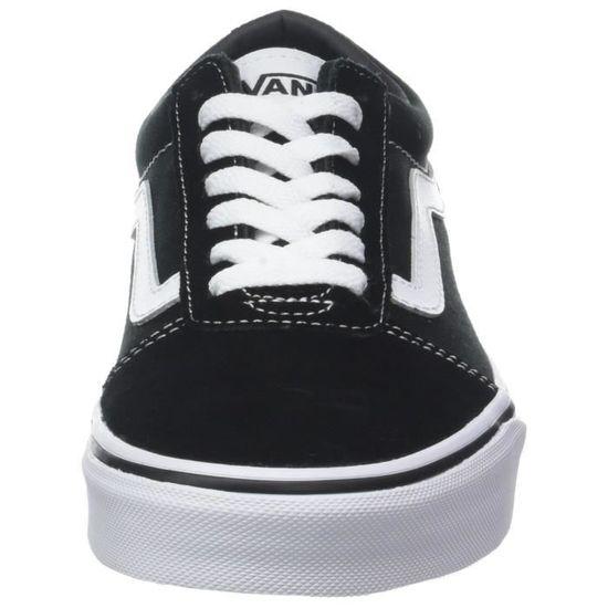 vans ward sneakers basses homme noir