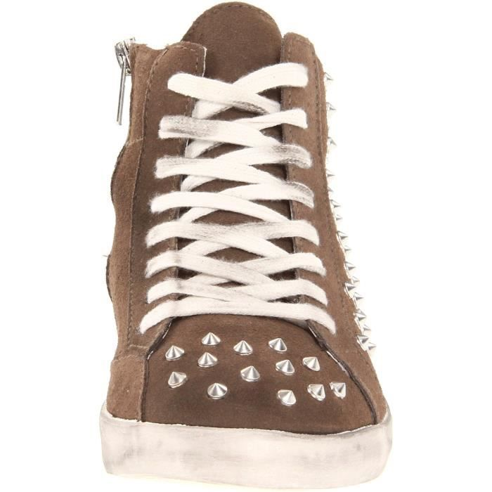 Steve Madden Twynkle Distressed Studded Sneaker L3CZY Taille-37 SIU0jtB5BV