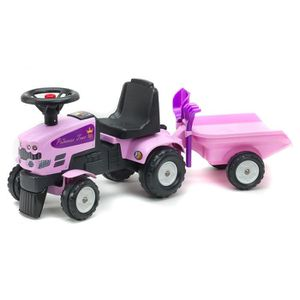PORTEUR - POUSSEUR FALK Porteur Tracteur Princess Trac avec remorque