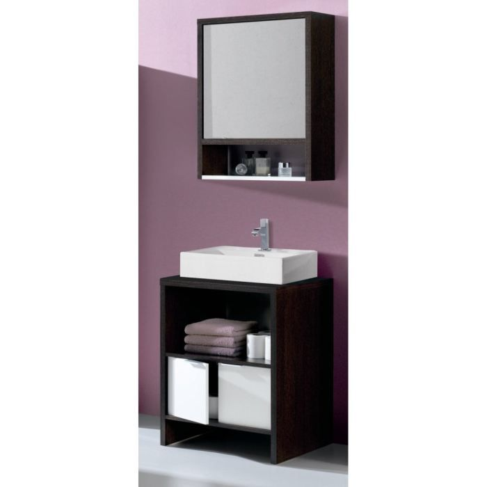 daphne ensemble salle de bain 58 cm achat vente salle de bain complete daphne salle de bain. Black Bedroom Furniture Sets. Home Design Ideas