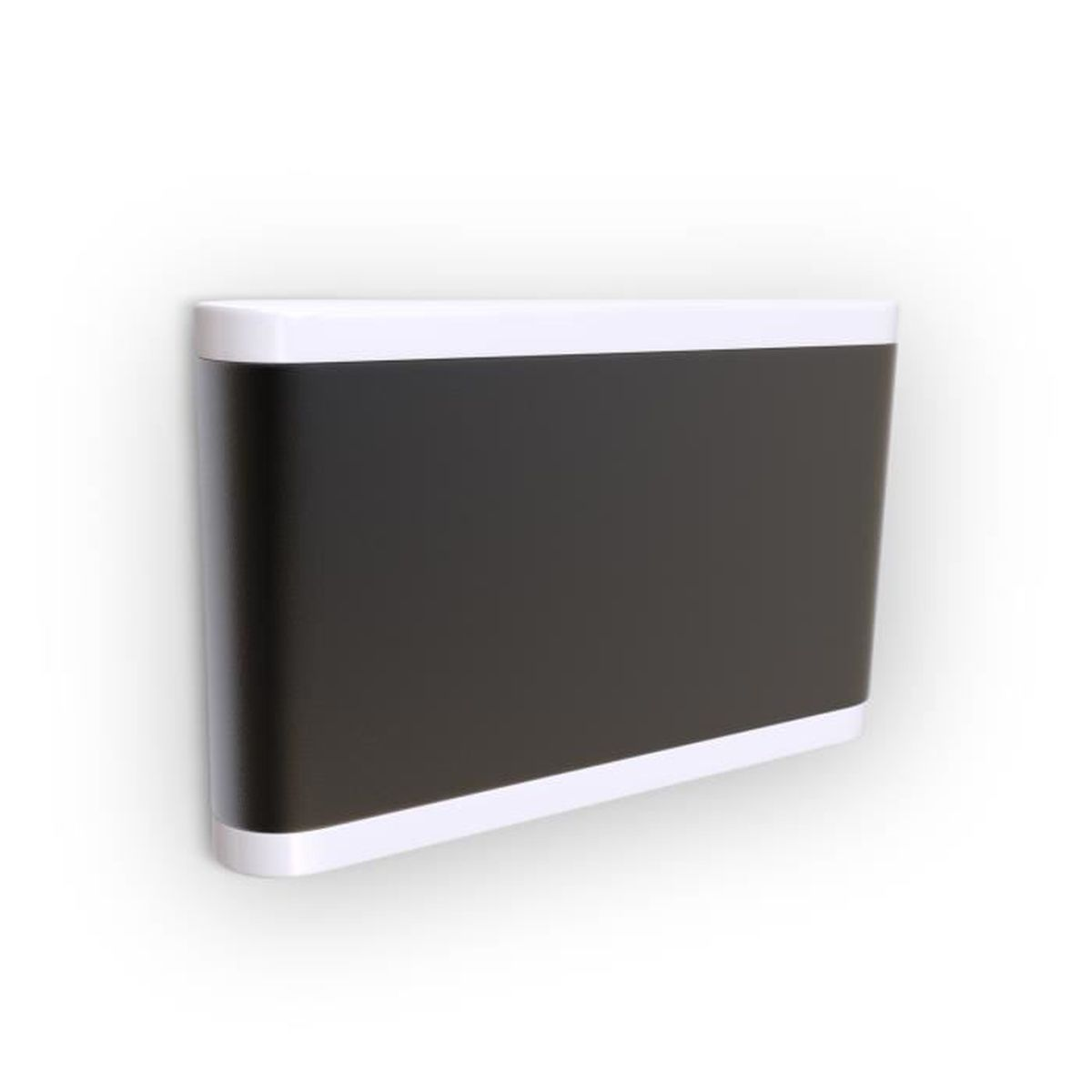 Applique Extérieure Eclairage Haut Et Bas applique led extérieure ip44 éclairage mural facade noir