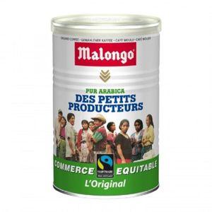 CAFÉ Café moulu pur arabica 250 g Malongo