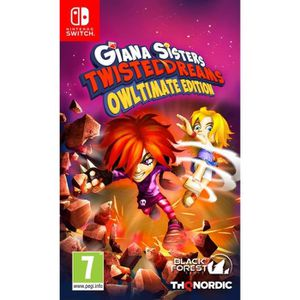 JEU NINTENDO SWITCH Giana Sisters Jeu Switch