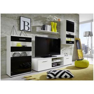 meuble tv living achat vente meuble tv living pas cher soldes cdiscount. Black Bedroom Furniture Sets. Home Design Ideas