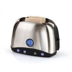 GRILLE-PAIN - TOASTER DOMOCLIP Premium DOD123 Grille-pain - Inox