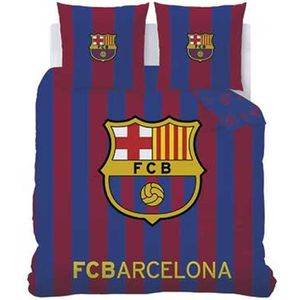 HOUSSE DE COUETTE SEULE FC Barcelone Housse de couette 220 x 240 cm + 2 ta