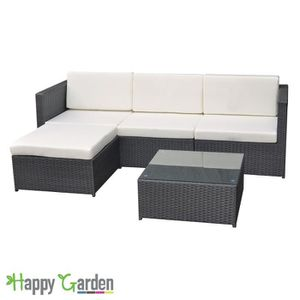 salon de jardin r sine tress e achat vente salon de jardin r sine tress e pas cher soldes. Black Bedroom Furniture Sets. Home Design Ideas