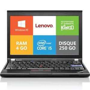 PC RECONDITIONNÉ ordinateur de bureau LENOVO X220 core I5 4go ram 2