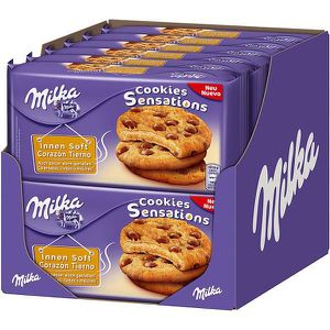 GATEAU PATISSIER Milka Cookies Sensations 12 x 156g