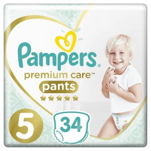 COUCHE Pampers - Premium Protection - Couches Taille 5 -