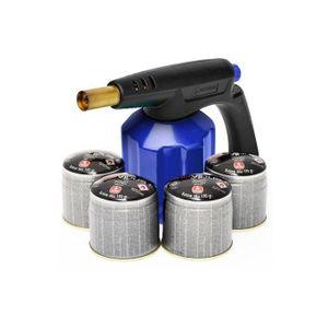 MACHINE DE SOUDURE Lampe à souder KIT PG900M coque acier piezo + 4 ca