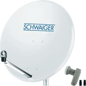 PARABOLE Parabole 80 cm Schwaiger 1 satellite LNB Twin