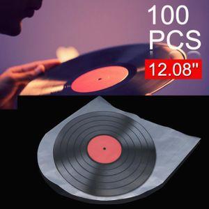 POCHETTE VINYLE TEMPSA 100PCS PE Disque Vinyle Dossier Sacs Plasti