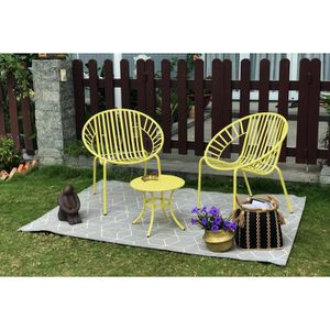 SALON DE JARDIN  OPOA Salon de jardin 2 places - 2 fauteuils et une