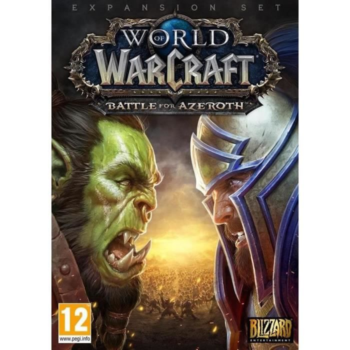 World of Warcraft Extension: Battle for Azeroth Jeu additionnel PC