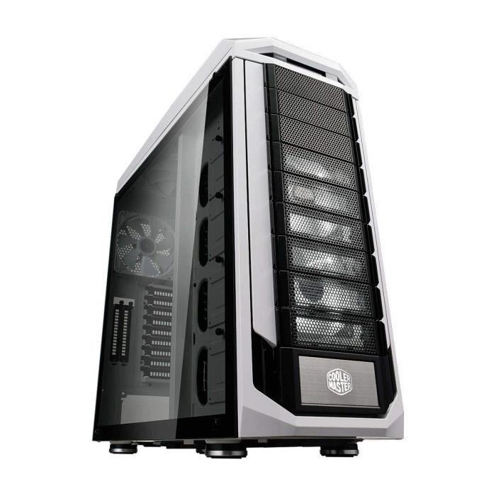 Cooler Master Stryker SE Boîtier PC 'XL-ATX- E-ATX- ATX- microATX- mini-ITX- USB 3.0- Panneau latéral en verre trempé' SGC-5000W