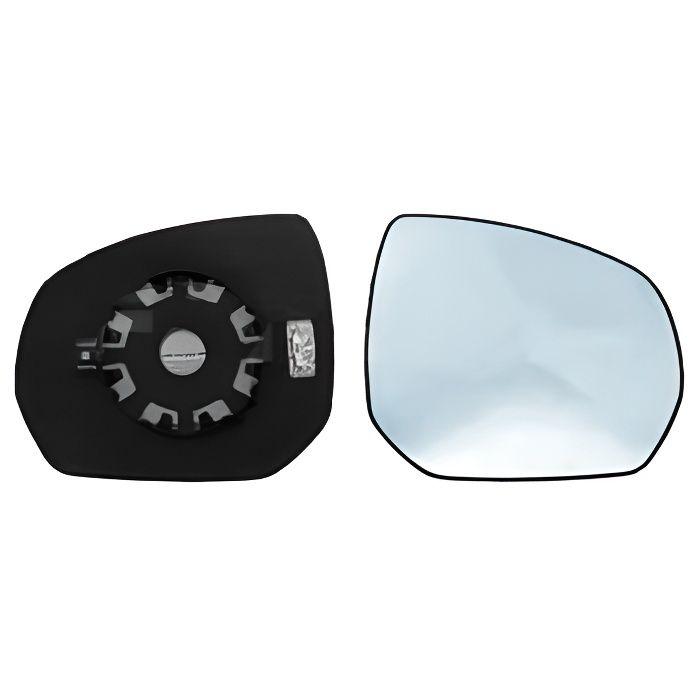 Miroir Glace rétroviseur droit CITROËN C3 PICASSO phase 2, 2012-2017, bleu, dégivrant, à clipser.