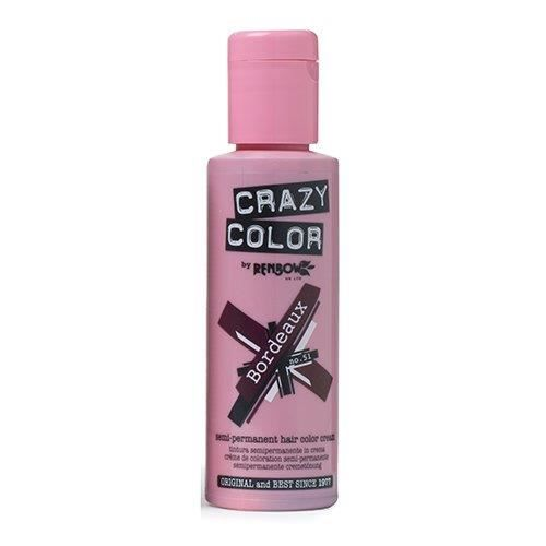 Crazy Color CRC023 Coloration Permanente Bordeaux - 002241
