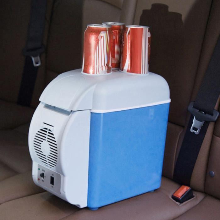 7,5 litres Réfrigérateur de voiture Mini frigo Réfrigérateur électronique Avec porte-gobelet