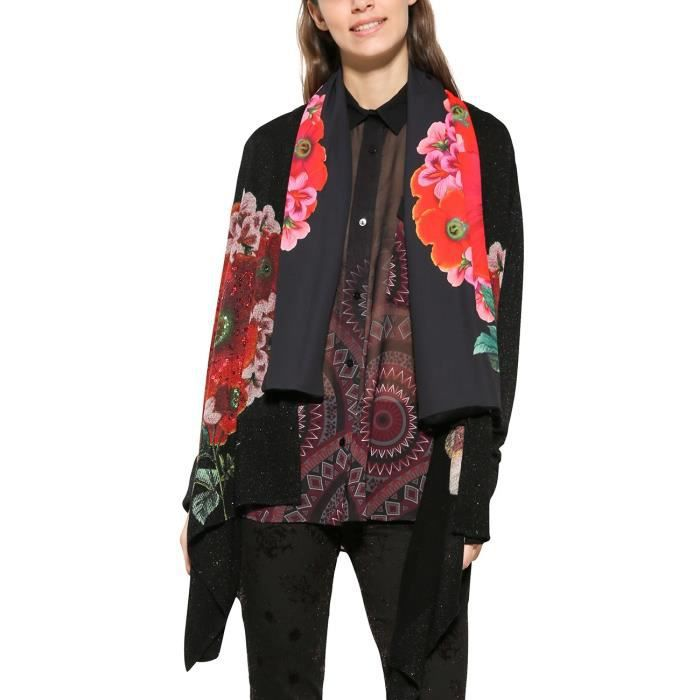 DESIGUAL Jers_anna Cardigan 1HB73Z Taille-32