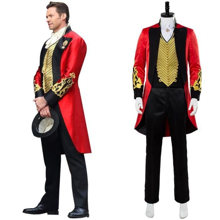 The Greatest Showman P.T. Barnum Cosplay Costume Déguisement Pour Femme