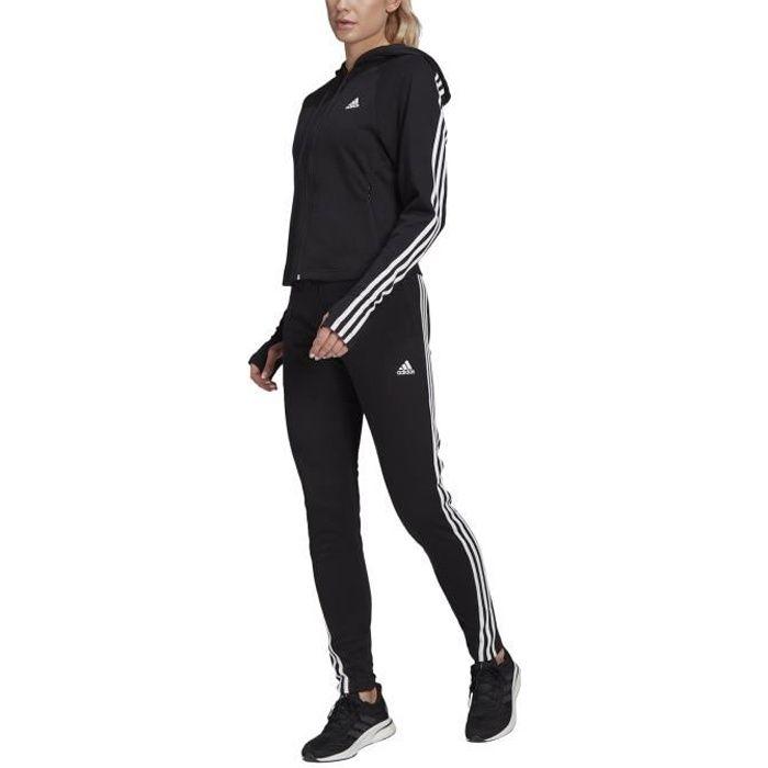 Adidas Survêtement pour Femme Sportswear Slim Fleece Noir