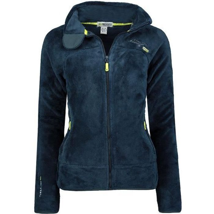 Polaire Femme Geographical Norway Upaline DB007 Marine
