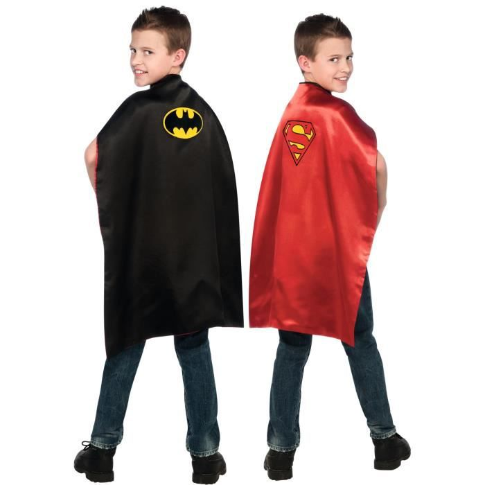 BATMAN/SUPERMAN Cape réversible