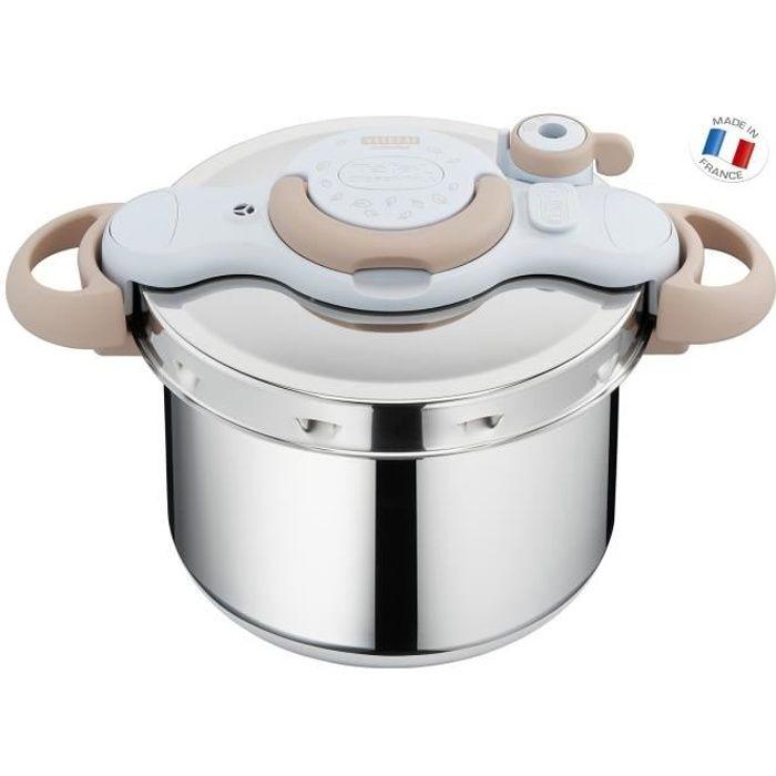 SEB P4624870 Autocuiseur Cocotte-minute CLIPSOMINUT'® - 7,5L - Tous feux dont induction - Fabriqué en France - 90% recyclable
