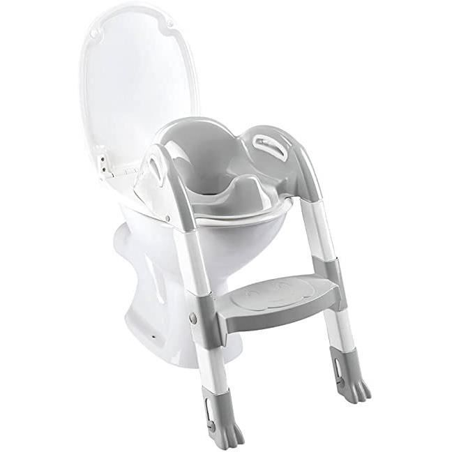 Thermobaby 2172587ALL Kiddyloo Toilette Blanc-gris