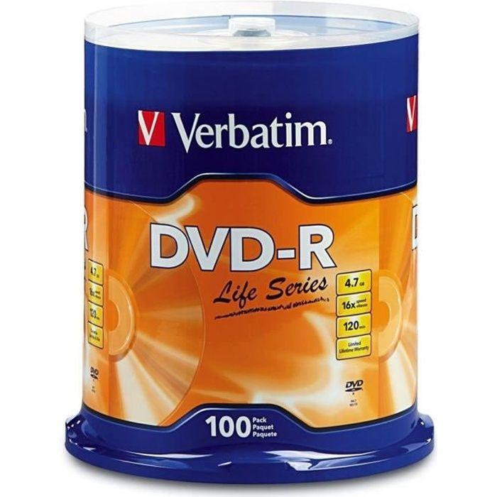 100 DVD-R Verbatim