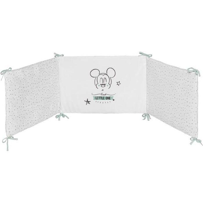 DISNEY Tour de lit adaptable Mickey 8x8cm