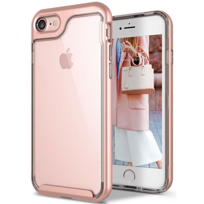 iphone 8 coque anti choc transparent