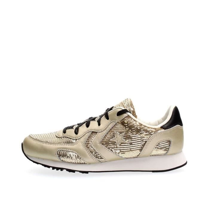 CONVERSE SNEAKERS Femme GOLD, 37 Gold - Achat / Vente basket ...