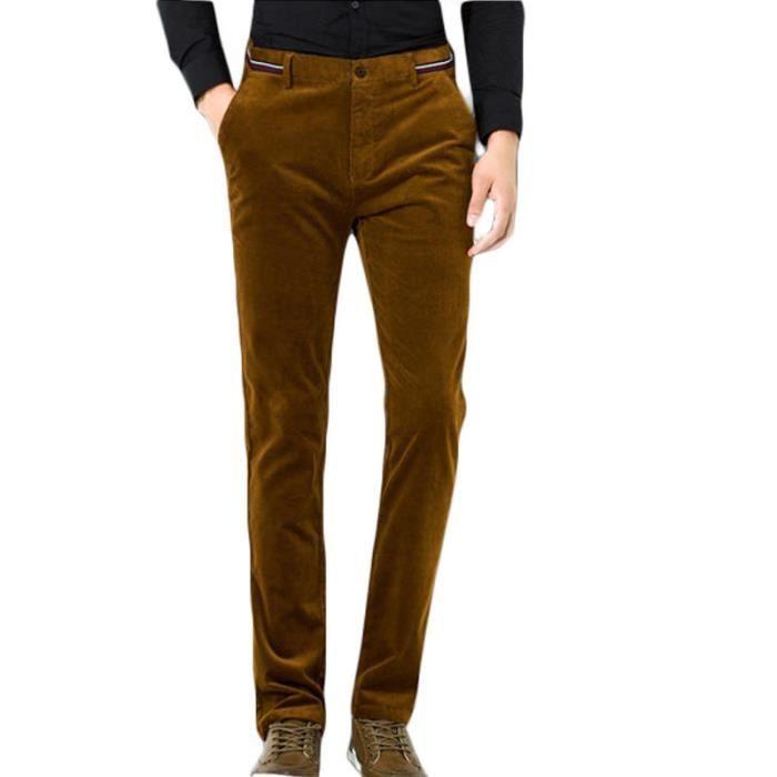 Pantalon homme en velours côtelé de Marque