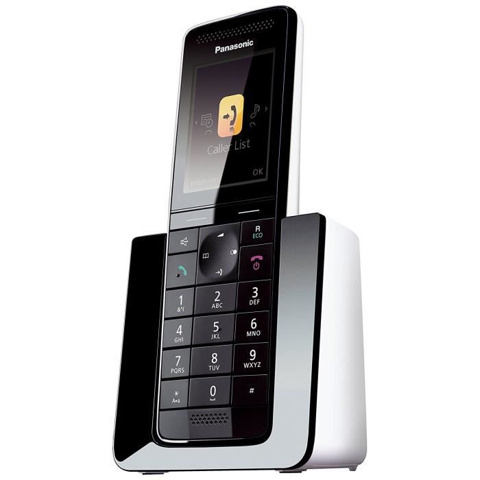 panasonic kx prs110frw t l phone sans fil sans r pondeur. Black Bedroom Furniture Sets. Home Design Ideas