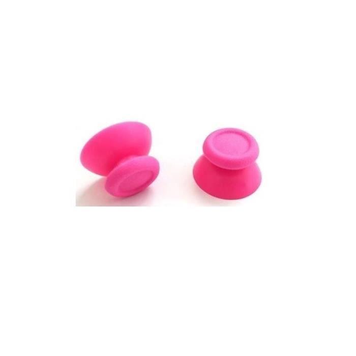JOYSTICK JEUX VIDÉO 2 joystick reparation manette ps4 Couleur rose Sky