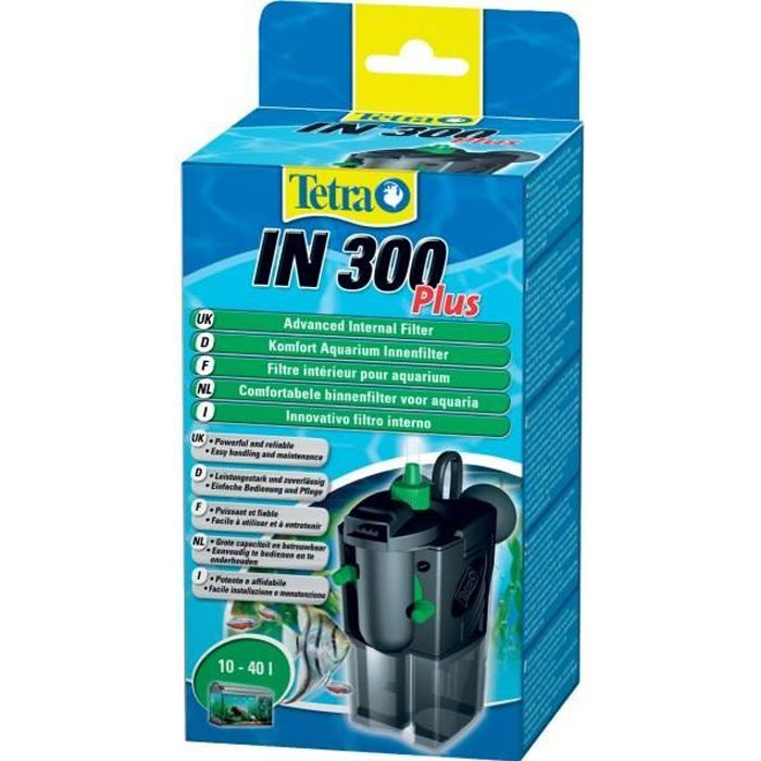 Tetra filtre int rieur pour aquarium in 300 plus achat for Filtre interieur aquarium