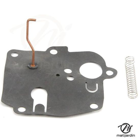 Membrane carburateur en kit pour Briggs /& Stratton 391681 Pi/èce neuve