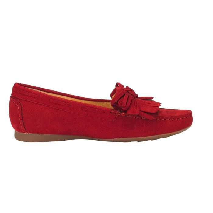 Tassel Suede Penny Mocassins pour les femmes: Bow Noeud Slip-on Driving Mocassins Boat Walking Flats WPGFK Taille-39