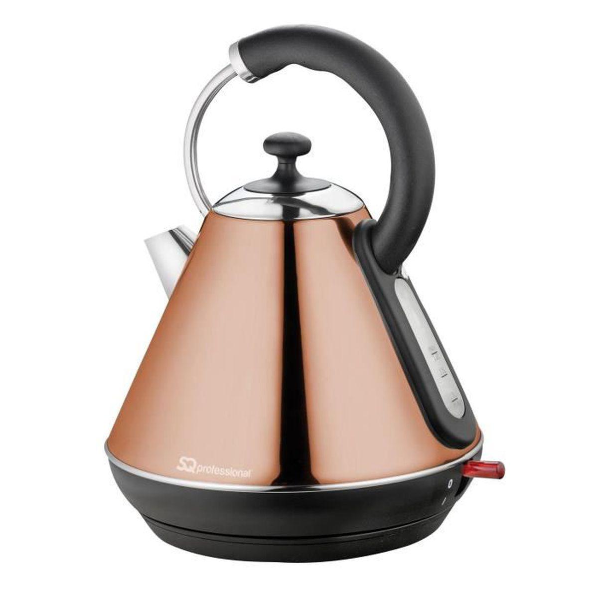 1.8 L Litre Sans Fil Bouilloire électrique rapide bouillir Carafe Filtre Lavable 2200 W Orange