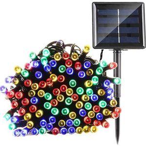 GUIRLANDE D'EXTÉRIEUR LYT® Solaire Guirlande lumineuse 22m 200 LEDs Mult