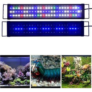 ÉCLAIRAGE 60cm - 90cm Rampe Aquarium LED Blanc Rouge Bleu Ve