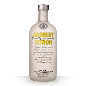VODKA Absolut Citron 70cl  - Vodka