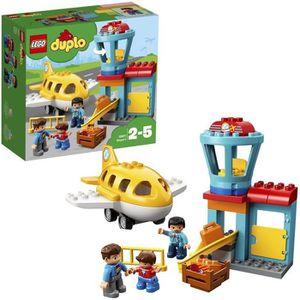 ASSEMBLAGE CONSTRUCTION LEGO® DUPLO® 10871 L'aéroport - Jeu de constructio