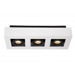 AMPOULE - LED Lucide XIRAX - Spot Plafond - LED Dim. - GU10 - 3x