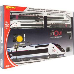 CIRCUIT MEHANO Coffret de train TGV INOUI - Circuit de tra