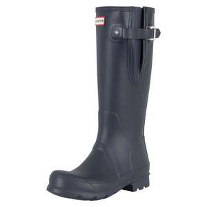 BOTTE Hunter Homme Side originale Wellies réglable, Bleu