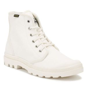 BOTTE Palladium Marshmallow White Pampa Originale Hi Bot