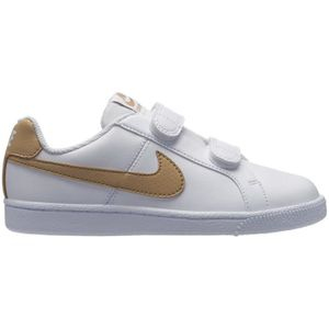 separation shoes 54719 f7ad5 BASKET NIKE, Nike court royale (psv), White club gold ...